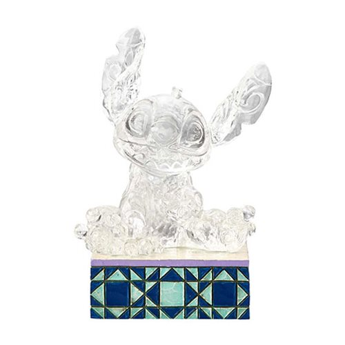 Disney Traditions Ice Bright Stitch Illuminated Statue by Jim Shore