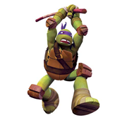 Teenage Mutant Ninja Turtles Donnie Giant Wall Decal