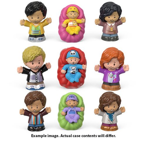 Little People Home Family Mini-Figure 3-Pack Case