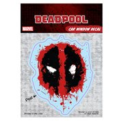 Deadpool Splatter Logo Decal