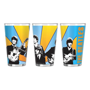 Beatles Band Photo 16 oz. Sublimated Pint Glass
