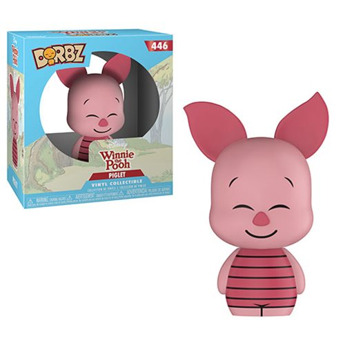 winnie the pooh piglet dorbz vinyl figure entertainment earth