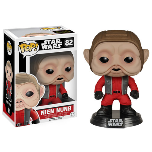 Star Wars: Episode VII - The Force Awakens Nien Nunb Pop! Vinyl Bobble Head, Not Mint