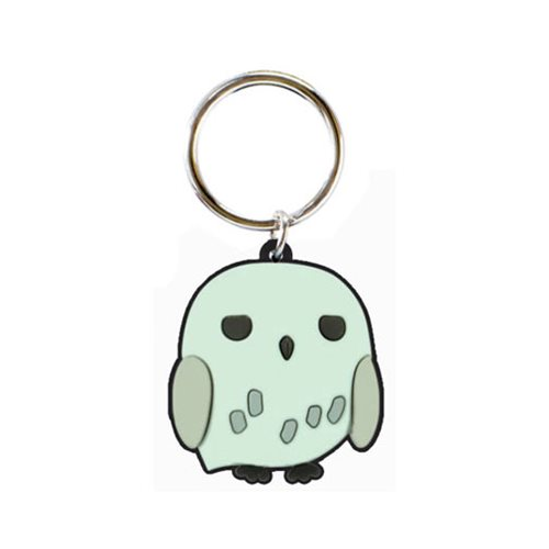 Hedwig Soft Touch PVC Key Chain