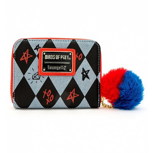Birds of Prey Harley Quinn Zip-Around Wallet