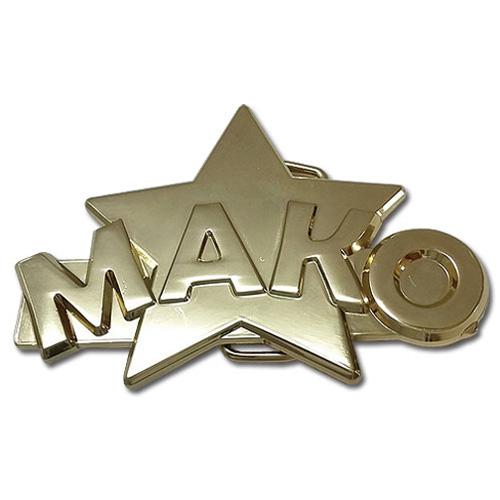Kill la Kill Mako's Ring Belt Buckle