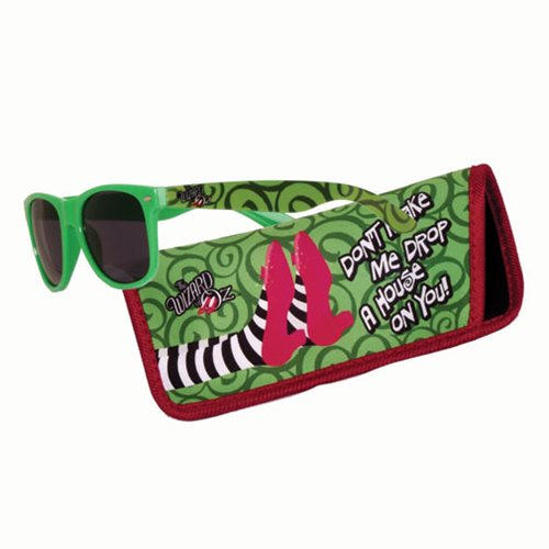 The Wizard of Oz Drop a House on You Sunglasses with Carry Case