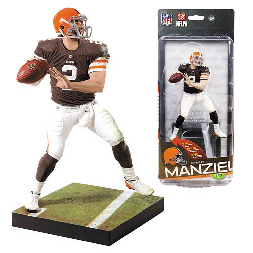 NFL Series 35 Johnny Manziel Action Figure