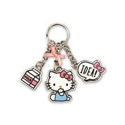 Hello Kitty with Idea Metal Multi-Charm Key Chain