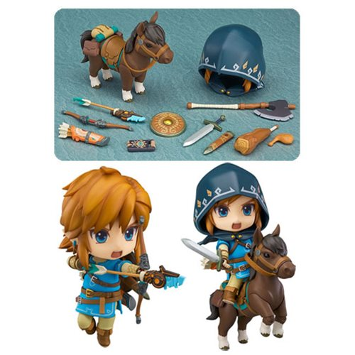 The Legend of Zelda: Breath of the Wild Link Nendoroid Action Figure - DX Edition