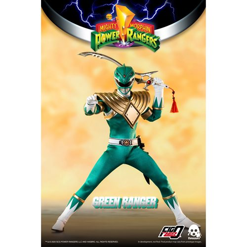 Mighty Morphin Power Rangers Green Ranger 1:6 Scale Action Figure