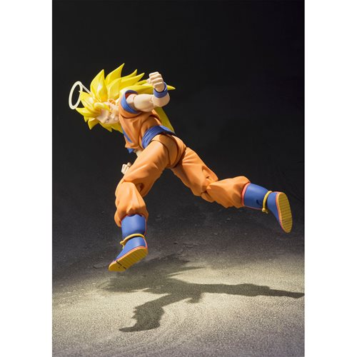Dragon Ball Z Super Saiyan 3 Son Goku S.H.Figuarts Action Figure