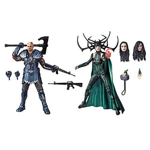Marvel Legends 80th Anniversary Skurge and Hela 6-Inch Action Figures