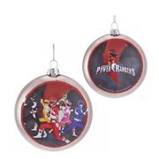Power Rangers 100mm Glass Disc Ornament