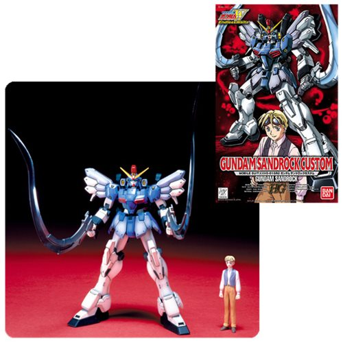 Gundam Wing: Endless Waltz Gundam Sandrock Custom High Grade 1:100 Scale Model Kit