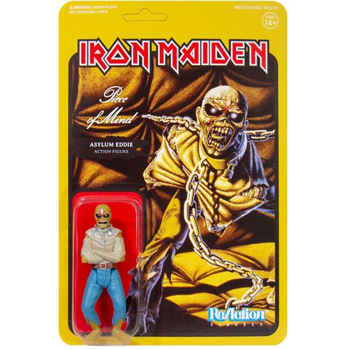 Iron Maiden Piece of Mind Eddie 3 3/4-Inch ReAction Figure