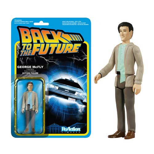 Back to the Future George McFly ReAction 3 3/4-Inch Retro Action Figure