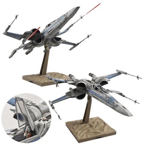 Star Wars: The Force Awakens Resistance X-Wing Fighter 1:72 Scale Model Kit