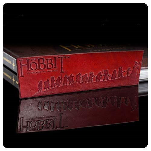 The Hobbit An Unexpected Journey Thorins Company Leather Bookmark
