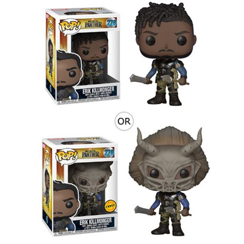 Black Panther Erik Killmonger Pop! Vinyl Figure #278
