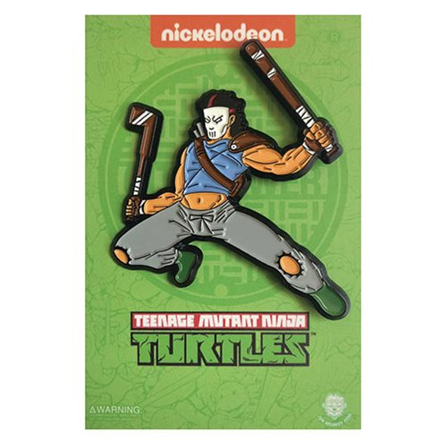 Teenage Mutant Ninja Turtles Casey Jones Enamel Pin