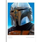 Star Wars: The Mandalorian No Love for the Empire Christian Waggoner Paper Giclee Art Print