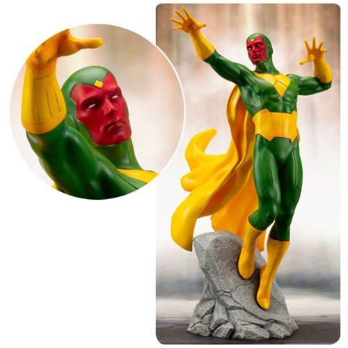 Картинки по запросу Marvel ArtFX+ Statues - Avengers Series - 1/10 Scale Vision