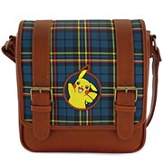 Pokemon Pikachu Plaid Crossbody Purse