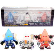 Transformers Conehead Ghost 3-Inch Action Vinyl Figure 3-Pack - SDCC 2014 Exclusive, Not Mint