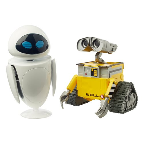 WALL-E and EVE Action Figure 2-Pack
