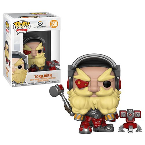 Overwatch Torbjorn Pop! Vinyl Figure #350