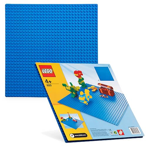 LEGO 620 Blue Building Plate