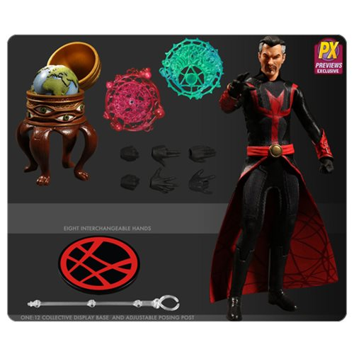 Doctor Strange Defender Version One:12 Action Figure - Previews Exclusive