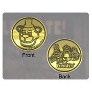 Five Nights at Freddy's Fazbear's Token Collectible Arcade Token