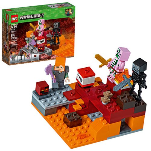 LEGO Minecraft Creative Adventures 21139 The Nether Fight
