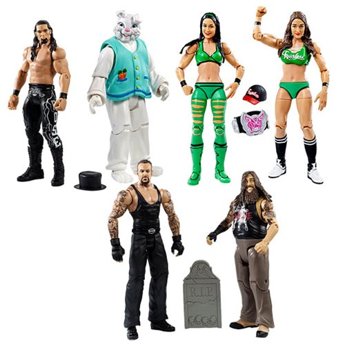 WWE Basic 2-Pack Series 38 Revision 1 Action Figure Set