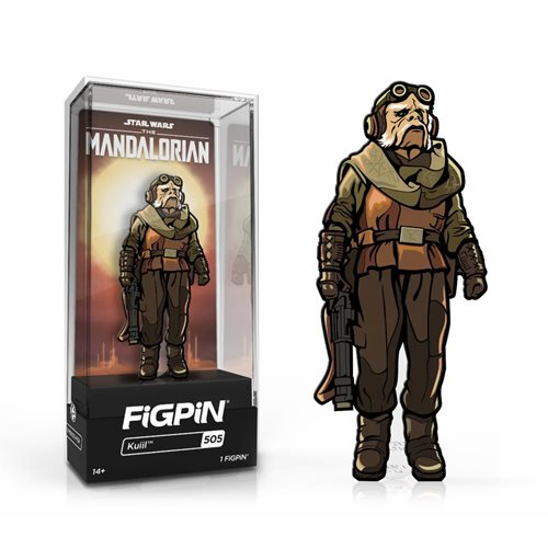 Star Wars: The Mandalorian Kuiil FiGPiN 3-Inch Enamel Pin