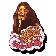 Janis Joplin Don't Compromise Yourself Funky Chunky Magnet