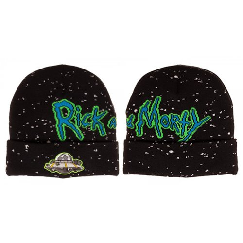 Rick and Morty Jacquard Beanie