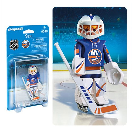 Playmobil 9098 NHL New York Islanders Goalie Action Figure