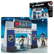 Playmobil 9016 NHL Score Clock  with Referees Playset