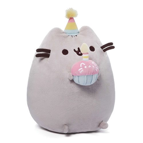 Pusheen the Cat Birthday 10 1/2-Inch Plush