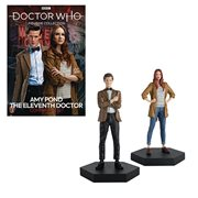 Doctor Who Collection Companion Set #1 Eleventh Doctor and Amy Pond Statues
