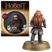 The Hobbit Gloin The Dwarf At Lonely Mountain Figure with Collector Magazine #24