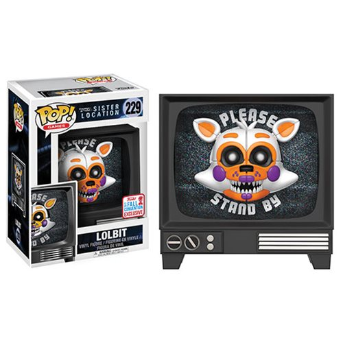 Five Nights at Freddy's Sister Location Lolbit Pop! Vinyl Figure - Exclusive
