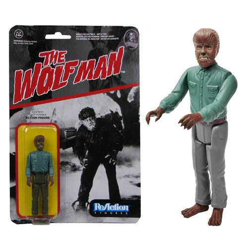 Universal Monsters Wolfman ReAction 3 3/4-Inch Retro Action Figure