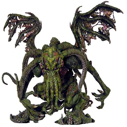 Nightmares of H.P. Lovecraft Cthulhu Figure