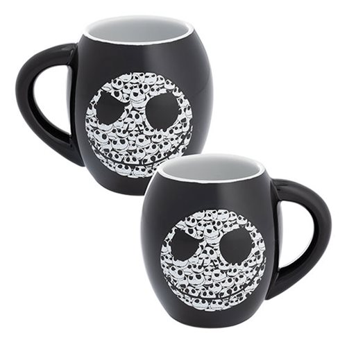 Nightmare Before Christmas Jack 18 oz. Oval Ceramic Mug