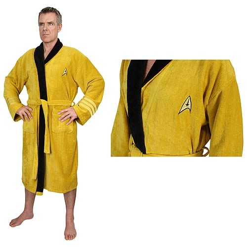 Star Trek Original Series Kirk Cotton Bathrobe