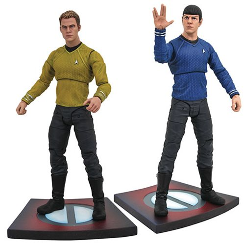 Star Trek: Into Darkness Movie Select Action Figure Set